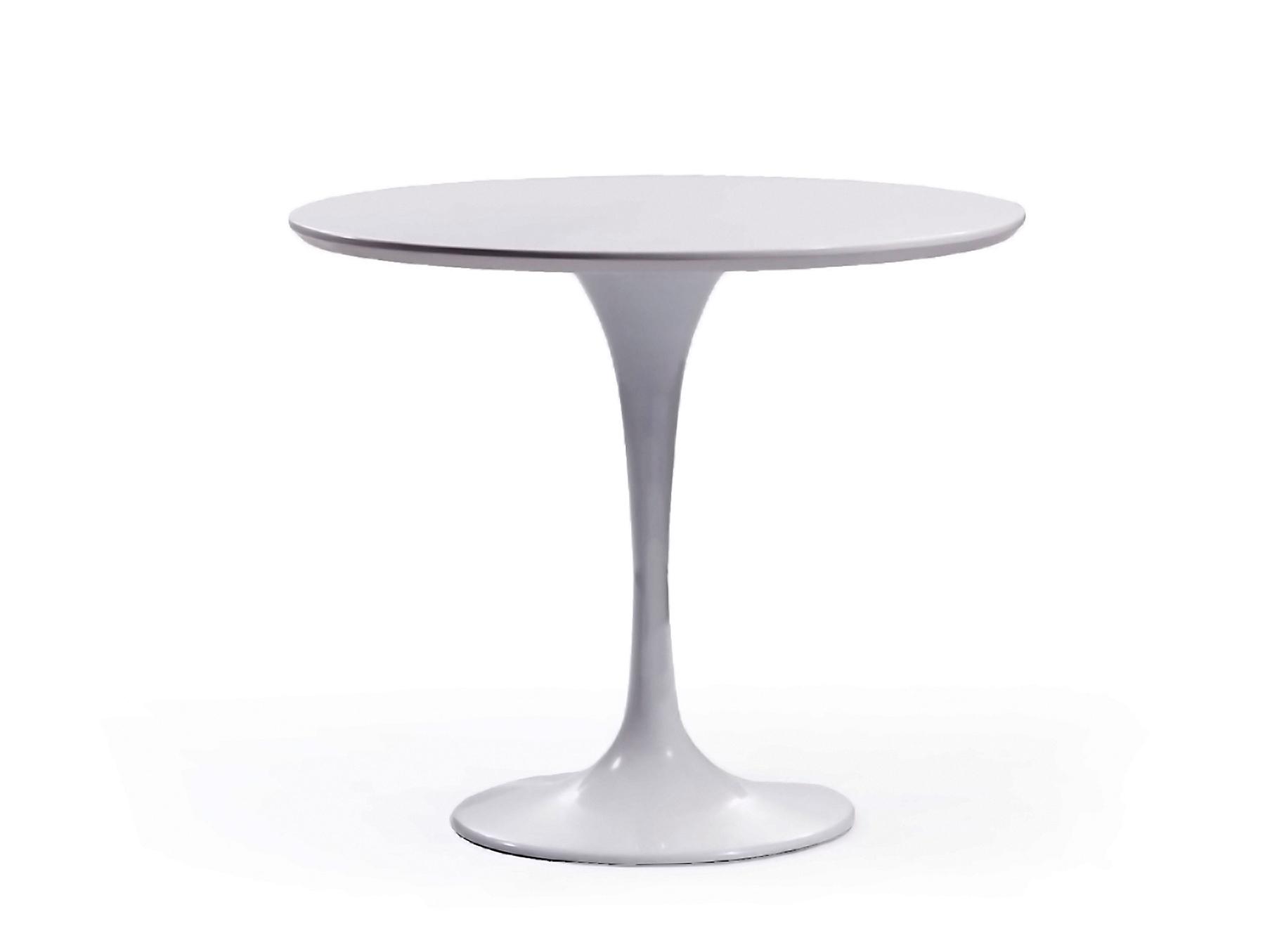 круглый стол белый тулип 120 см