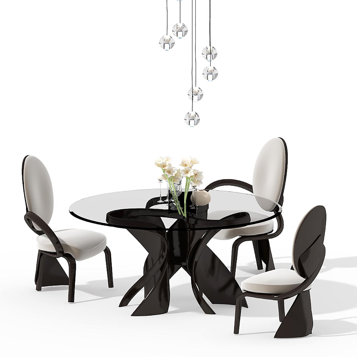 стол обеденный круглый