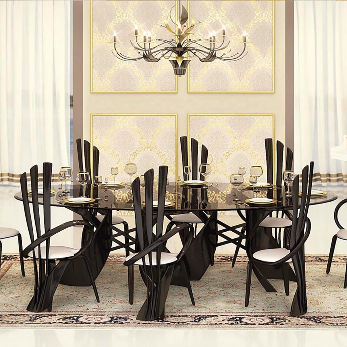 кухонные столы со стеклянной столешницей