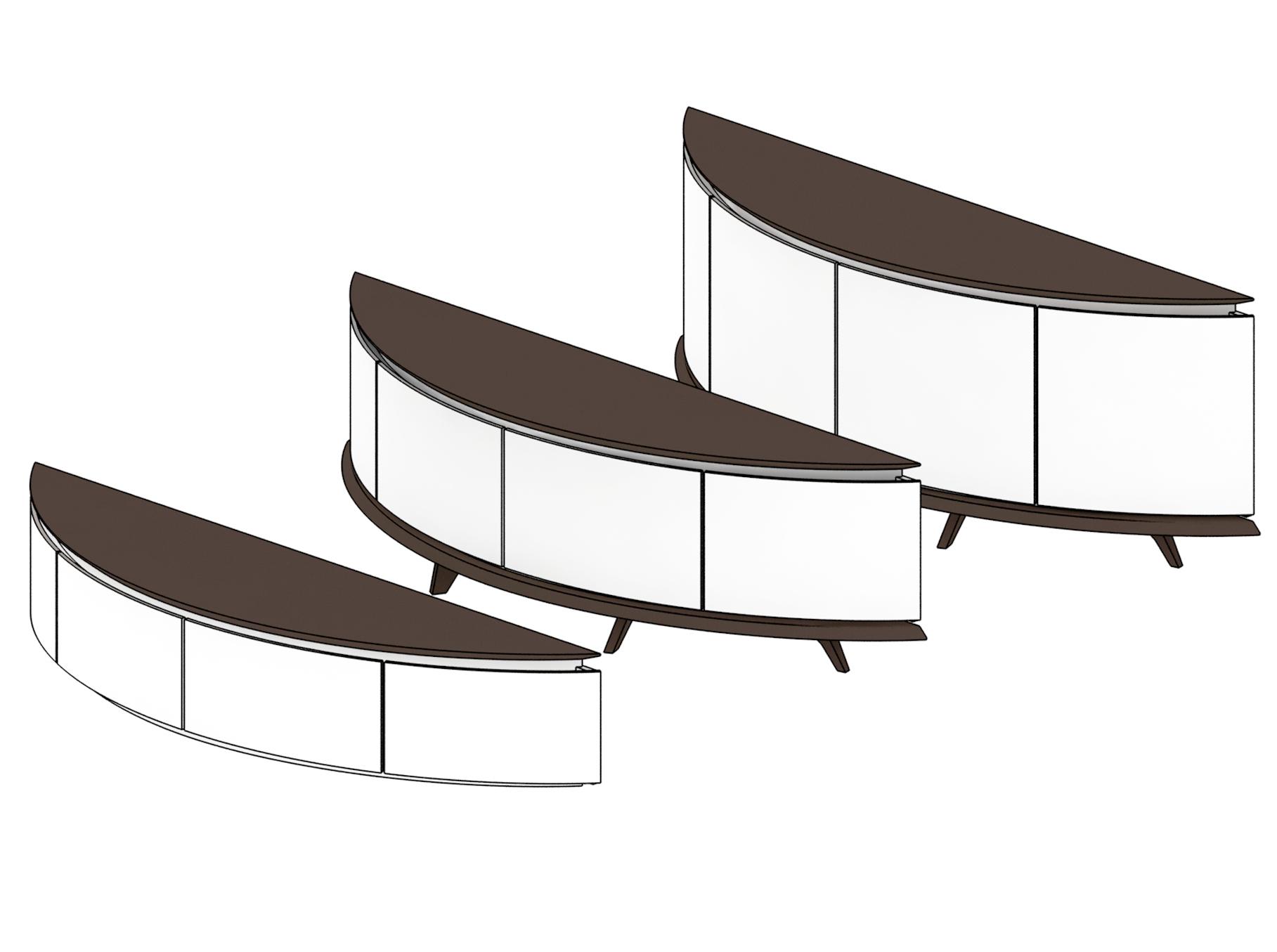 корпусная мебель из массива натурального дерева