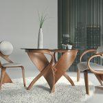 стул с подлокотниками для кухни