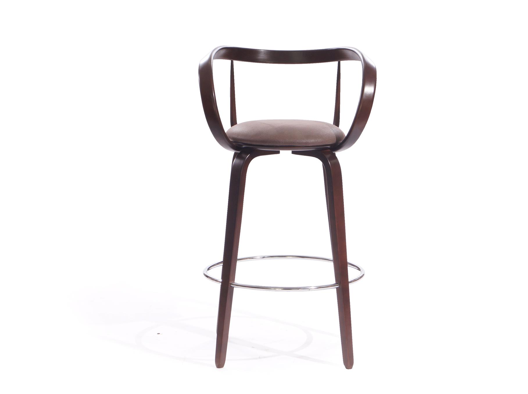 барный стул из массива дерева
