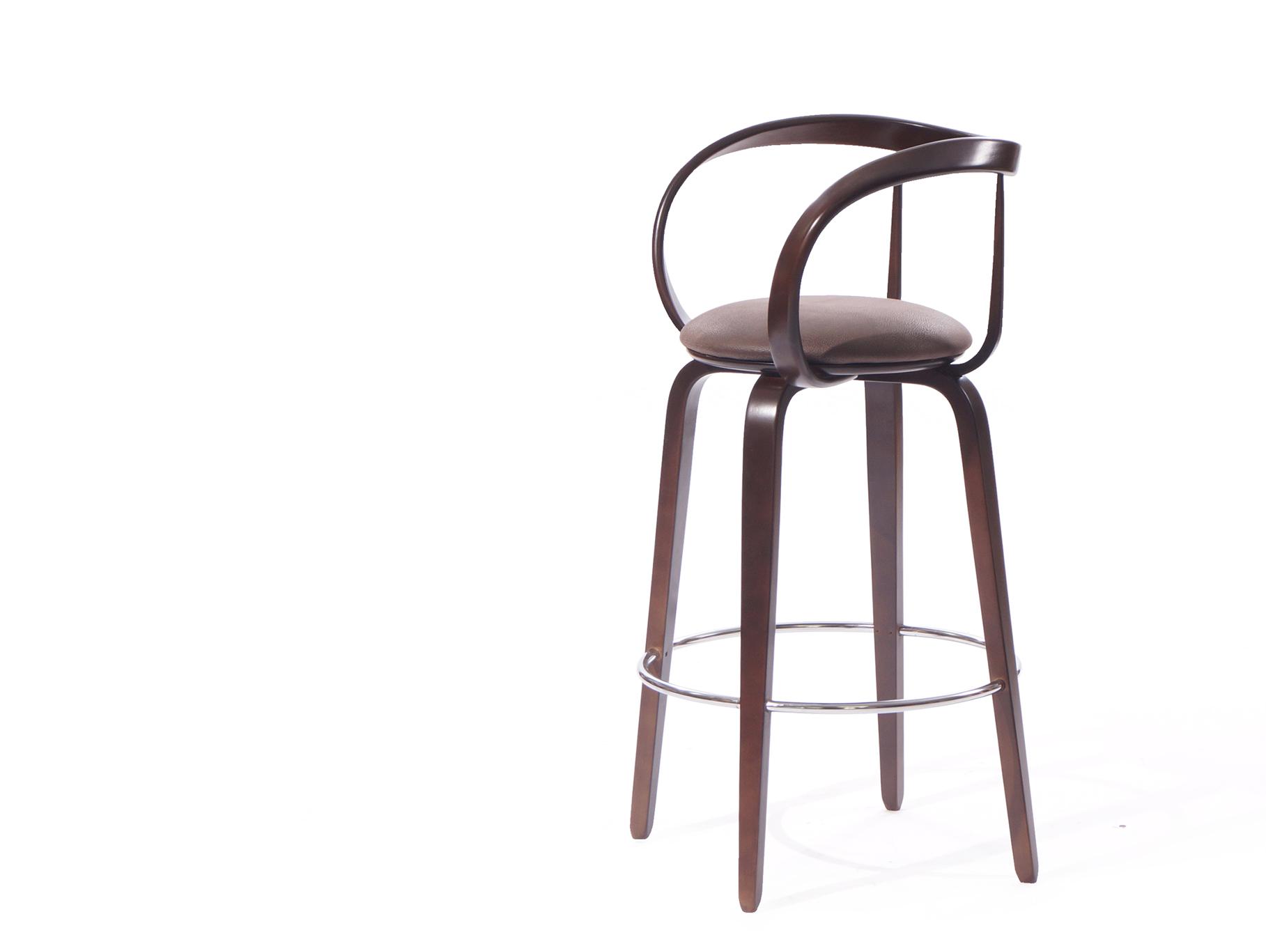деревянный барный стул купить