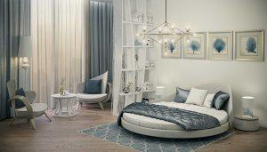 круглые кровати фото и цены фото