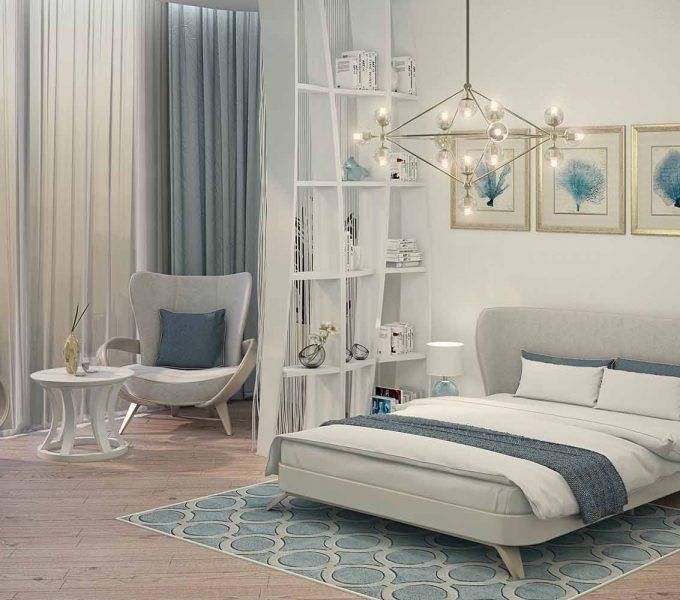 необычная кровать купить. Интерьеры неоклассика