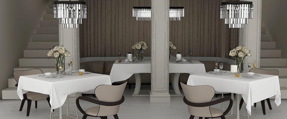 Стулья для ресторанов, интерьеры ресторана.