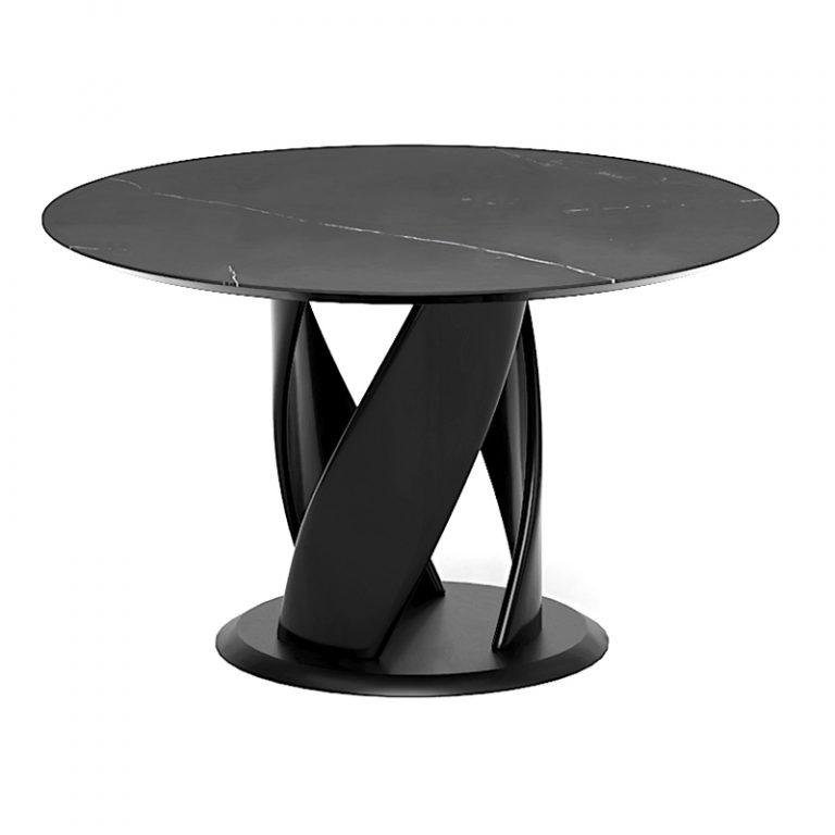 Дизайнерский стол с деревянным подстольем