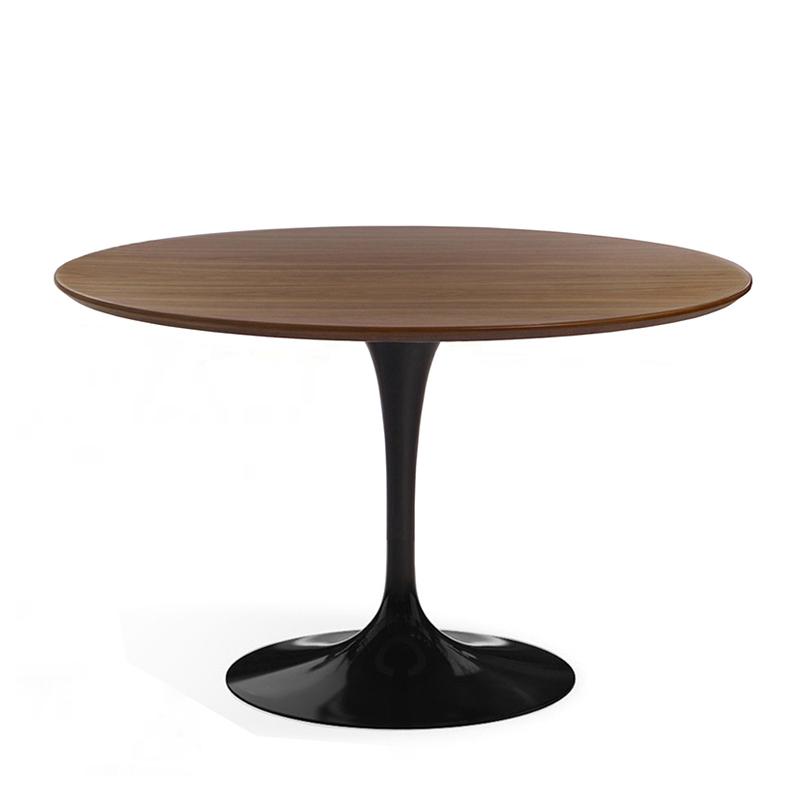Стол обеденный на одной ножке круглый