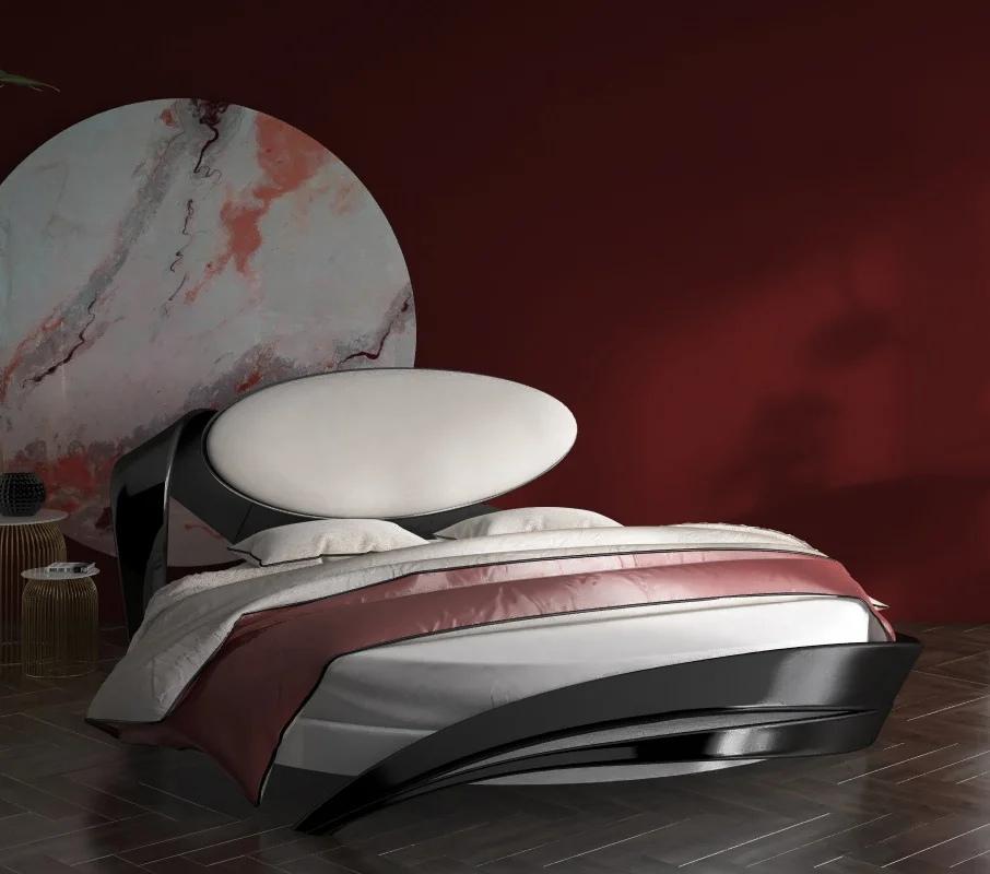 Круглая кровать для спальни