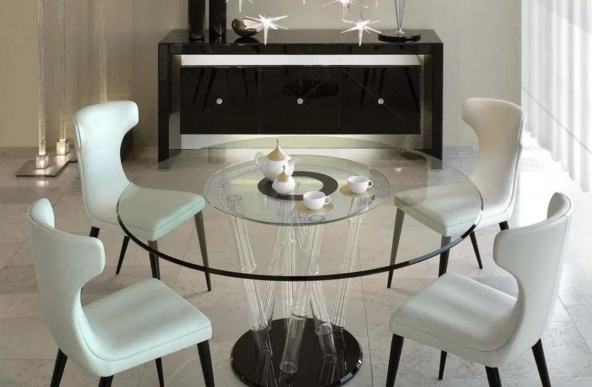 Стол дизайнерский стеклянный
