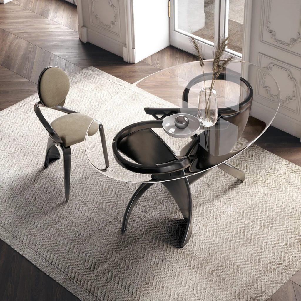 Овальный обеденный стол   Как правильно подобрать
