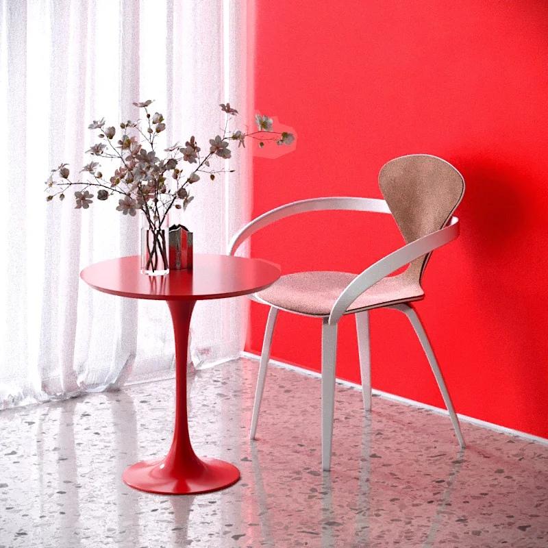 Стол на одной ножке Tulip