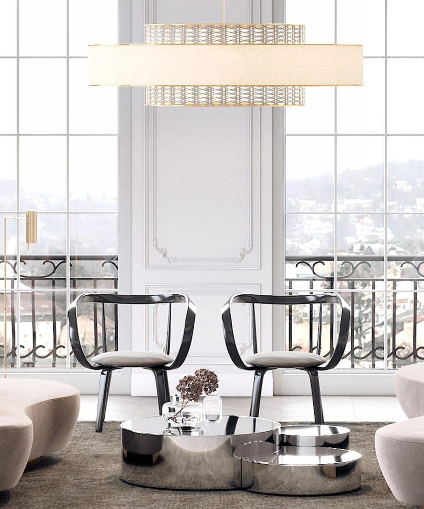 Стулья для гостиной – советы, модели и интересные решения