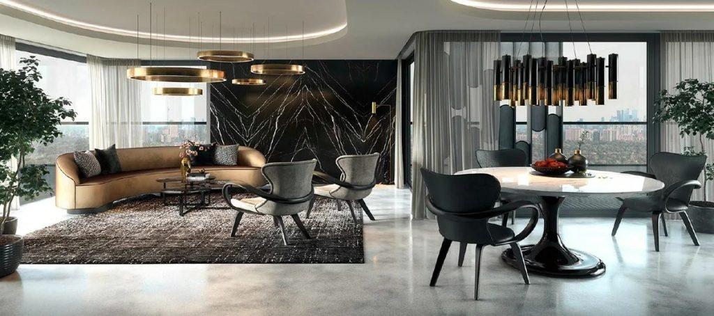 мебель для интерьера в скандинавском стиле