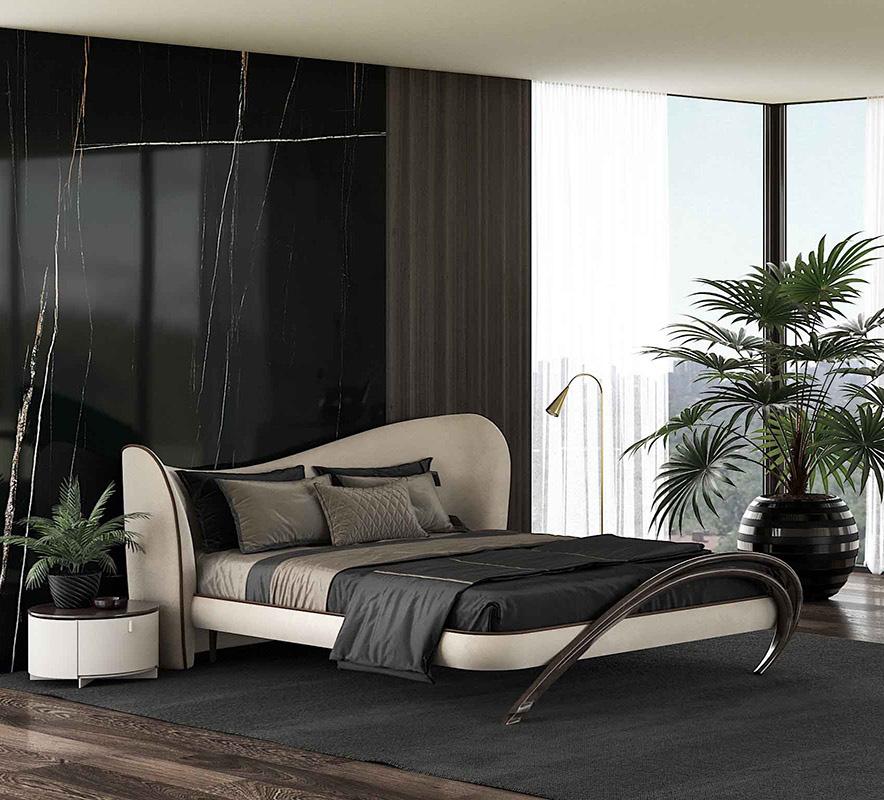 Дизайнерская кровать в спальню