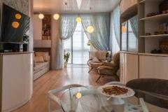 Интерьер квартиры в стиле модер